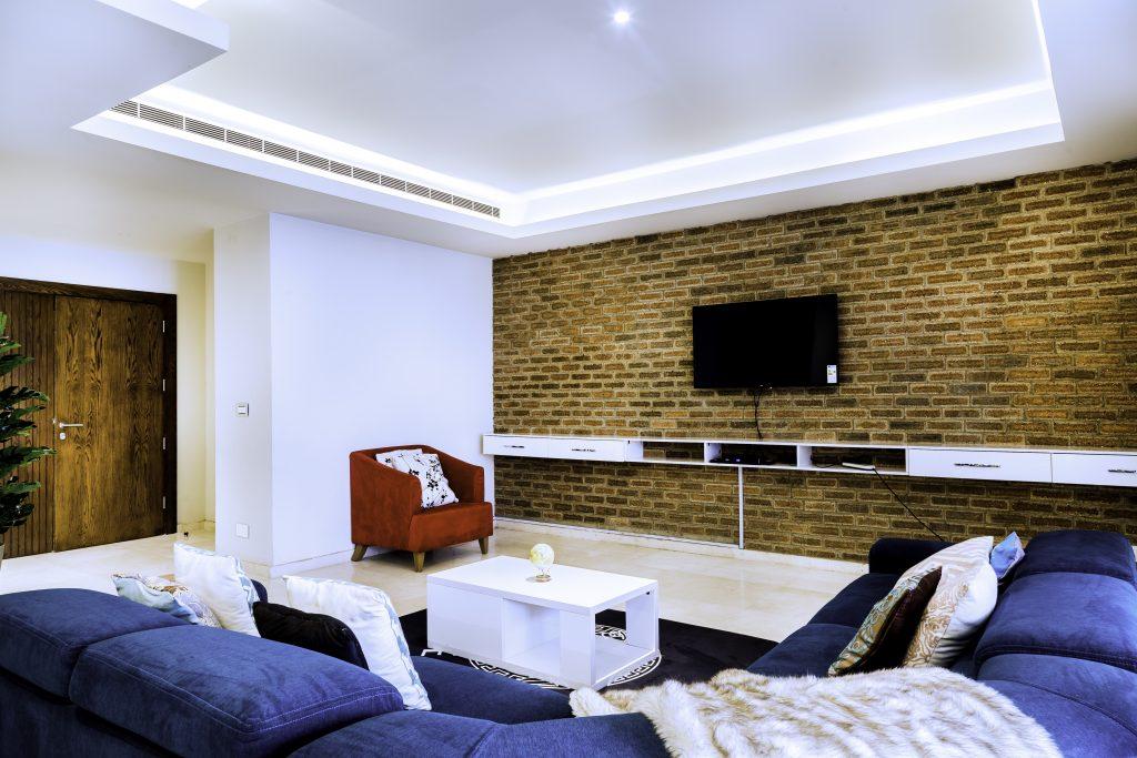 Interior of La Lex Maison, a fully-serviced Eko Atlantic Apartment