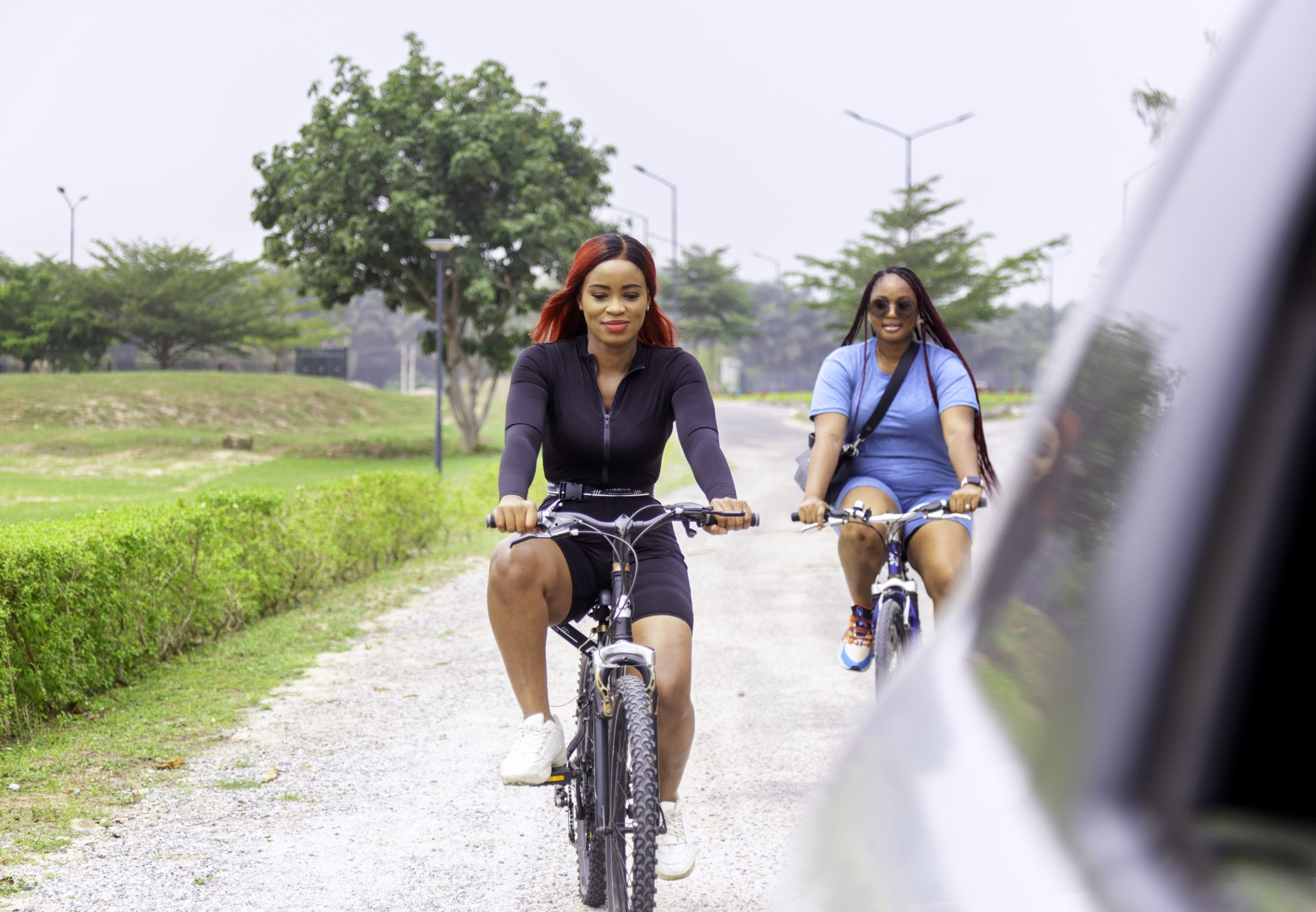 Bicycle tours to enjoy the natural environment in Lakowe Lakes