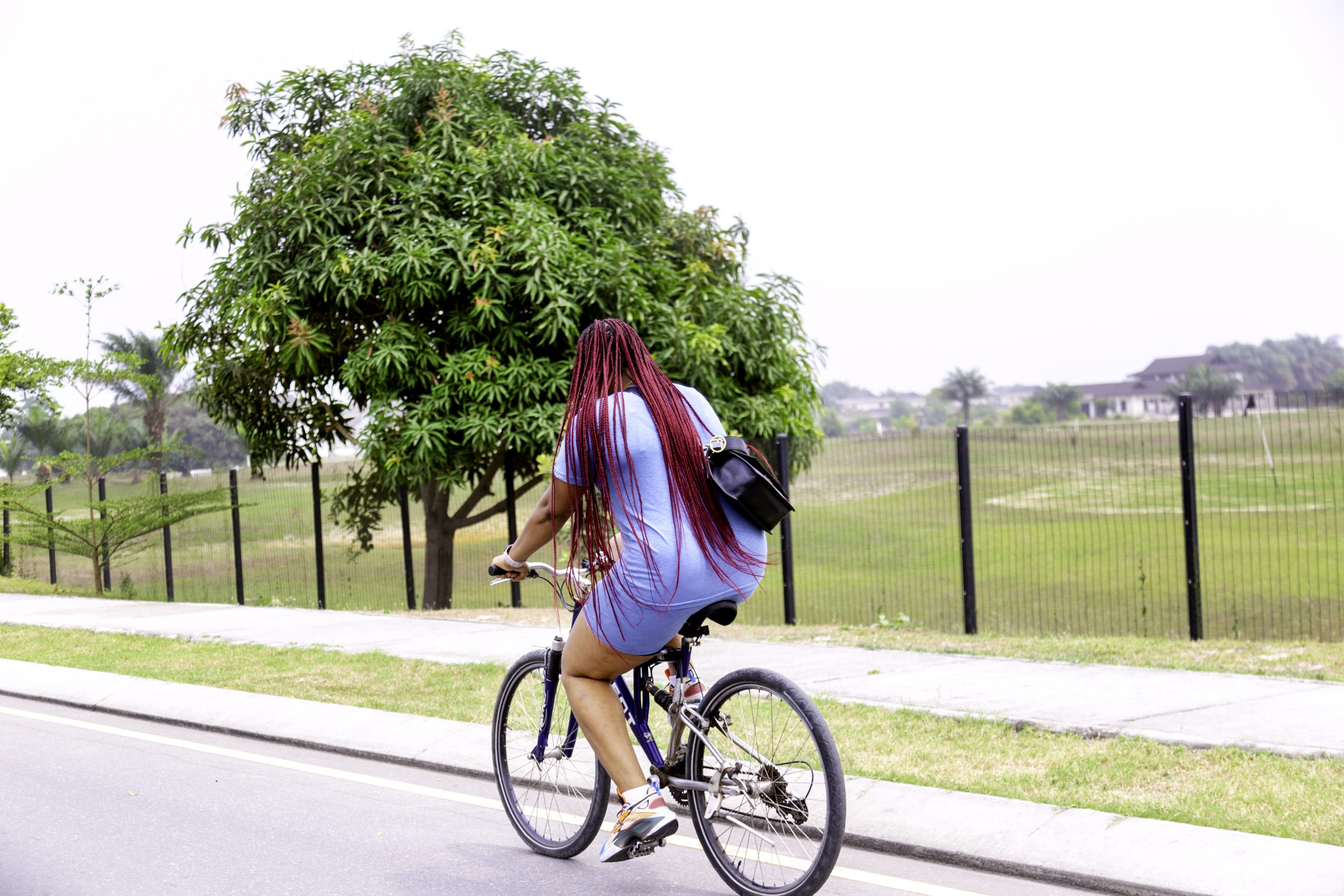 Feel the wind as you cycle through Lakowe Lakes