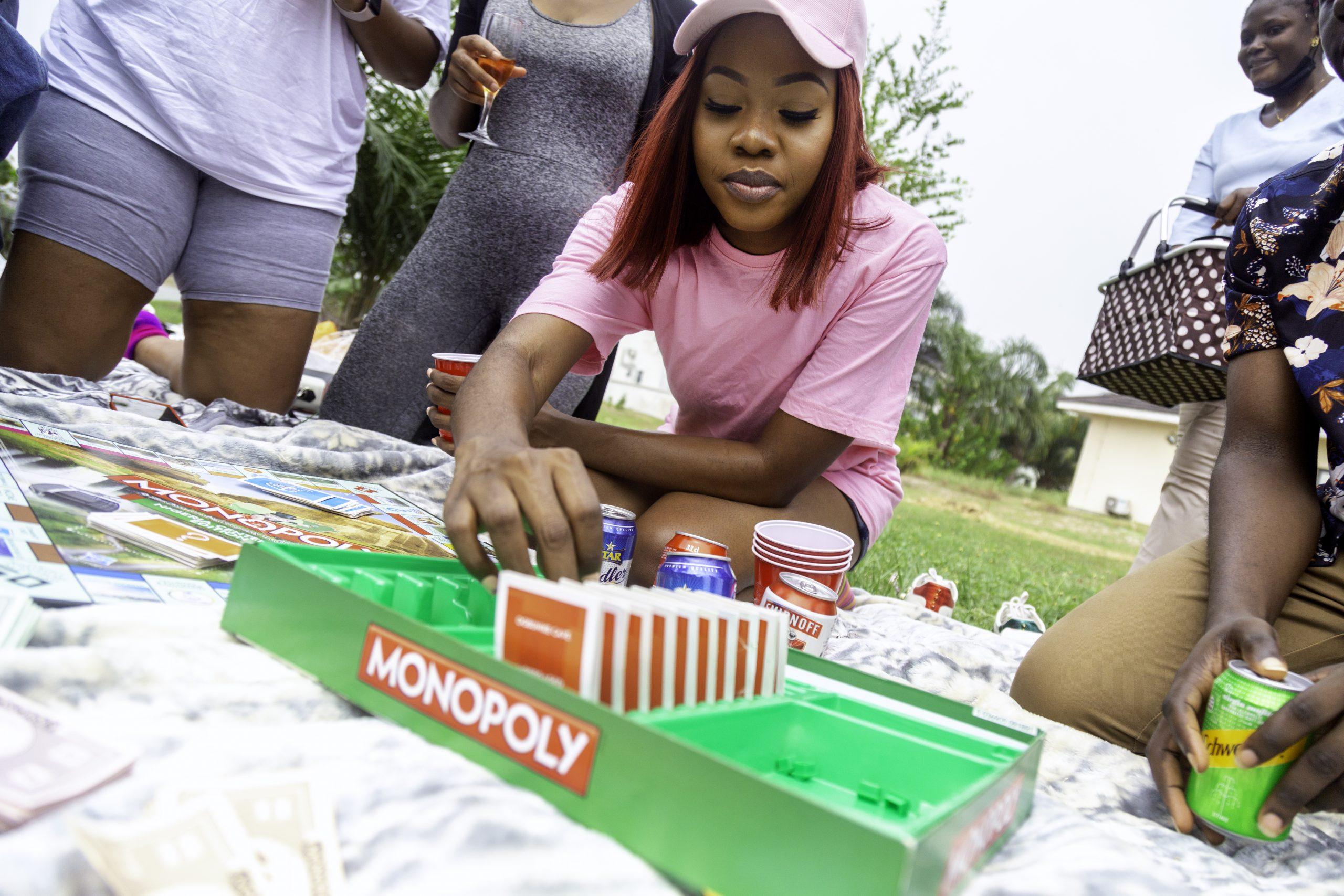 Board games go with outdoor picnics at Lakowe Lakes